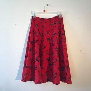 Vintage Star Trek Themed Skirt